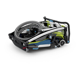 Thule Chariot Sport 2 Remorque vélo, chartreuse/mykonos